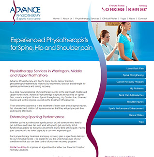 Advanced Physiotherapy - Totalmedicaldesign