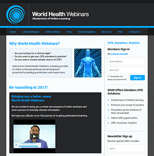 World Health Webinars