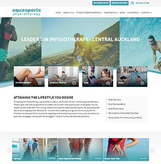 Aqua Sports physiotherapy - Totalmedicaldesign